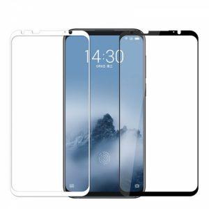 Защитное стекло 3D Full Cover (на весь экран) для Meizu 16 (White)