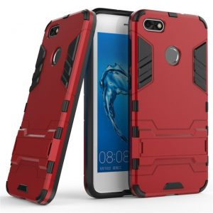 Ударопрочный чехол Transformer с подставкой для Huawei Y6 Pro 2017 / Nova Lite 2017 (Red)
