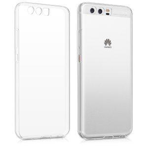 Прозрачный силиконовый (TPU) чехол (накладка) для Huawei P10 (Clear)