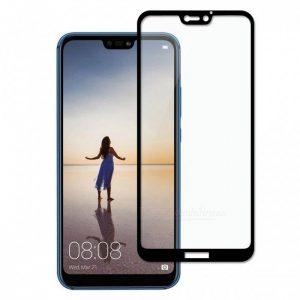 Защитное стекло 3D Full Glue (на весь экран) для Huawei P20 Lite / Nova 3E (Black)