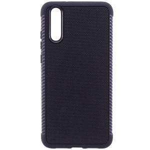 Cиликоновый (TPU) чехол Weave для Huawei P20 (Черный)