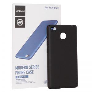 Матовый пластиковый чехол (накладка) Joyroom с защитой торцов для Huawei P8 Lite 2017 (Black)