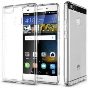 Прозрачный силиконовый (TPU) чехол (накладка) для Huawei P9 (Clear)