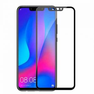 Защитное стекло 3D (5D) Full Glue Armor Glass на весь экран для Huawei P Smart Plus / Nova 3i – Black