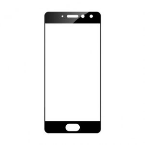 Защитное стекло 2.5D (3D) Full Cover на весь экран для Meizu Pro 7 — Black