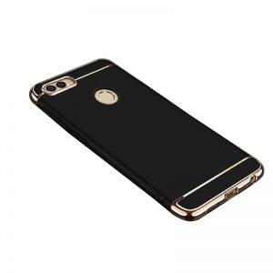 Матовый пластиковый чехол Joint Series для Huawei P smart / Enjoy 7S (Black)