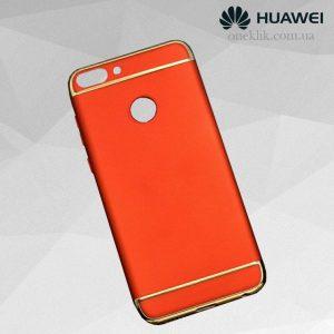 Матовый пластиковый чехол Joint Series  Huawei P smart / Enjoy 7S (Red)