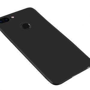 Матовый силиконовый TPU чехол на Huawei Y7 Prime 2018 / Honor 7C Pro (Black)
