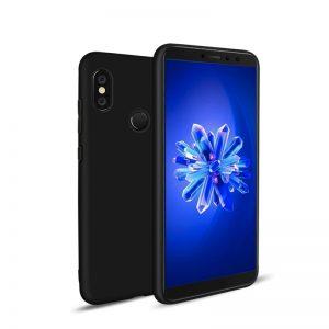 Матовый силиконовый TPU чехол для Xiaomi Mi 6X / Mi A2 – Черный