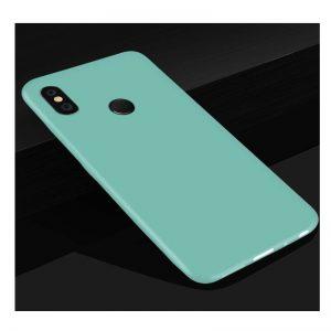 Матовый силиконовый TPU чехол на Xiaomi Redmi 6 Pro / Mi A2 Lite (Бирюзовый)