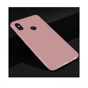 Матовый силиконовый TPU чехол на Xiaomi Redmi 6 Pro / Mi A2 Lite (Розовый)