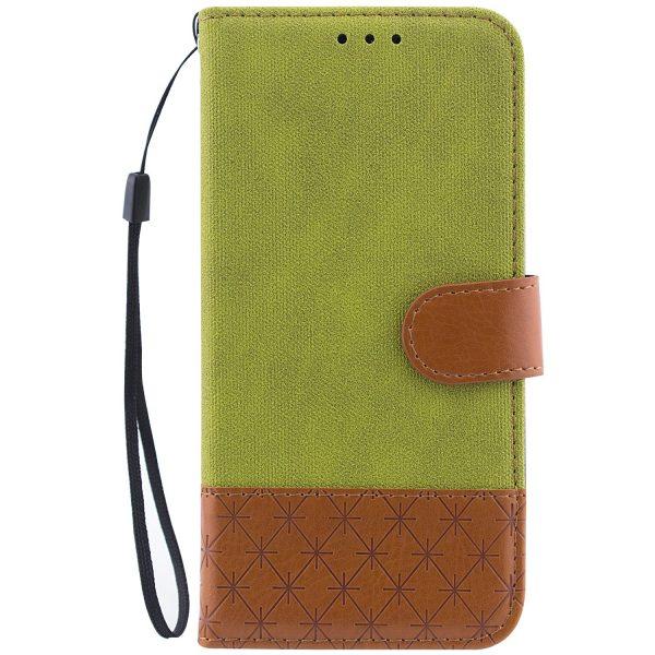 Чехол-книжка Diary с визитницей и функцией подставки  для Xiaomi Redmi 6A (Салатовый)
