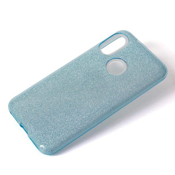 Голубой силиконовый (TPU) чехол (накладка) Shine с блестками для Xiaomi Redmi 6 Pro / Mi A2 Lite (Blue)