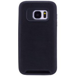 Противоударный TPU+PC чехол – бампер Deen Waves для Samsung G930F Galaxy S7 (Black)
