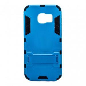 Ударопрочный чехол Transformer с подставкой для Samsung G935F Galaxy S7 Edge (Blue)