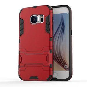Ударопрочный чехол Transformer с подставкой для Samsung G935F Galaxy S7 Edge (Red)