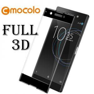 Защитное стекло 3D Full Cover Mocolo для Sony XA1 / XA1 Dual на весь экран – Black