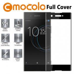 Защитное стекло 3D Full Cover Mocolo (на весь экран) для Sony XA1 Plus / XA1 Plus Dual (Black)