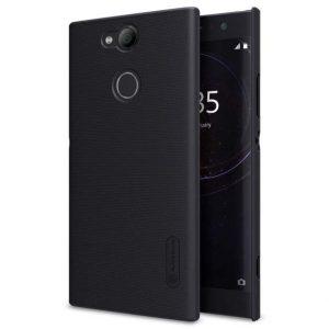 Черный пластиковый чехол (накладка) Nillkin Matte Series для Sony Xperia XA2 Ultra / XA2 Ultra Dual (Black)