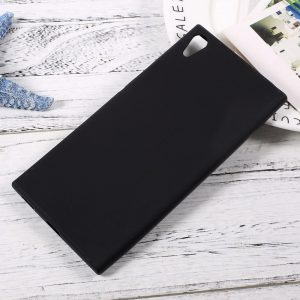Матовый силиконовый TPU чехол на Sony Xperia XA / XA Dual (Black)