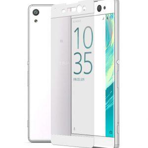 Защитное стекло 3D Full Cover для Sony XA Ultra / XA Ultra Dual на весь экран – White