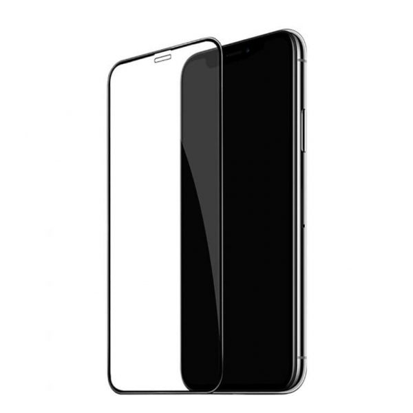 Защитное стекло 3D (5D) Full Glue Armor Glass на весь экран для Iphone XR / 11 – Black