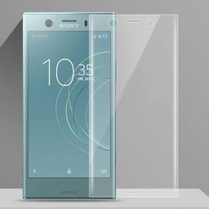Защитное стекло 3D Full Cover (на весь экран) для Sony XZ1 Compact (Clear)