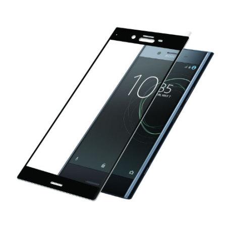Защитное стекло 3D Full Cover (на весь экран) для Sony XZ1 (Black)