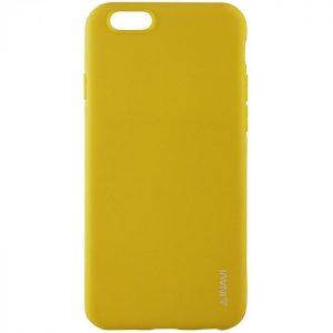 Матовый силиконовый TPU чехол на Huawei Y5 2018 / Y5 Prime 2018 / Honor 7A (Yellow)