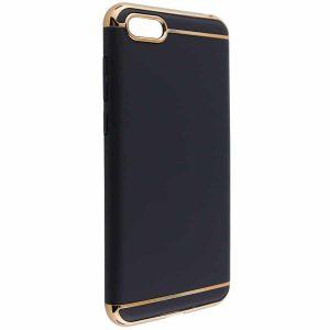 Матовый пластиковый чехол Joint Series  для Huawei Y5 2018 / Y5 Prime 2018 / Honor 7A (Black)