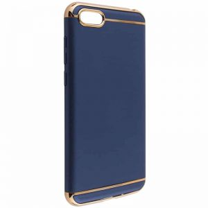 Матовый пластиковый чехол Joint Series для Huawei Y5 2018 / Y5 Prime 2018 / Honor 7A (Blue)
