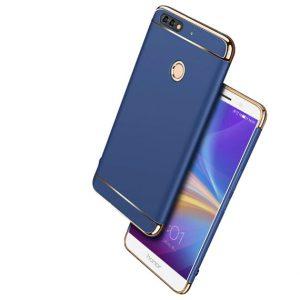 Матовый пластиковый чехол Joint Series для Huawei Y6 Prime 2018 / Honor 7A Pro / Honor 7C (Blue)