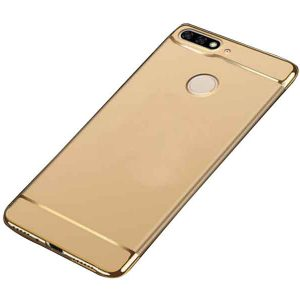 Матовый пластиковый чехол Joint Series  Huawei Y6 Prime 2018 / Honor 7A Pro / Honor 7C (Gold)