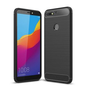Cиликоновый (TPU) чехол Slim Series  для Huawei Y7 Prime 2018 / Honor 7C Pro (Black)