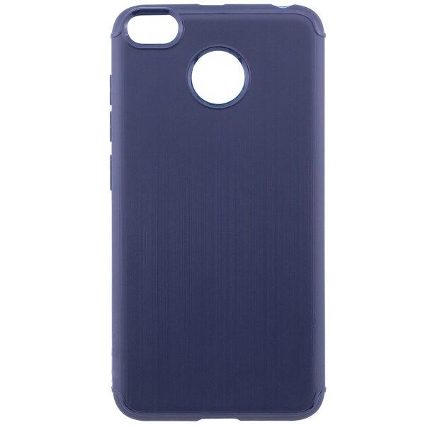 Темно-синий силиконовый (TPU) чехол (накладка) Metal для Xiaomi Redmi 4х (Navy Blue)