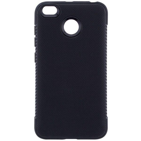 Черный силиконовый (TPU) чехол (накладка) Weave для Xiaomi Redmi 4х (Black)