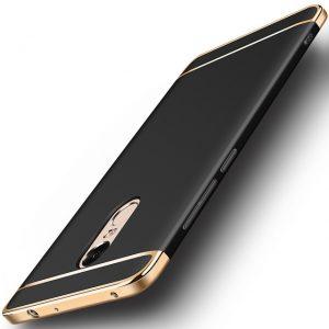 Матовый пластиковый чехол Joint Series  для Xiaomi Redmi 5 (Black)