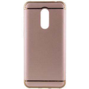 Матовый пластиковый чехол Joint Series для Xiaomi Redmi 5 Plus (Gold)
