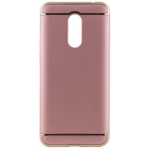Матовый пластиковый чехол Joint Series  для Xiaomi Redmi 5 Plus (Rose Gold)