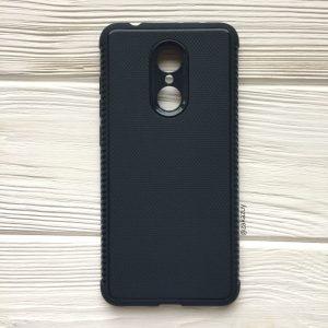 Cиликоновый (TPU) чехол Weave  для Xiaomi Redmi 5 Plus (Синий)