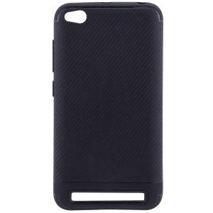 Черный силиконовый (TPU) чехол (накладка) Carbon для Xiaomi Redmi 5A (Black)