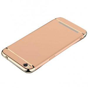 Золотой матовый пластиковый чехол (накладка) Joint Series для Xiaomi Redmi 5A (Gold)