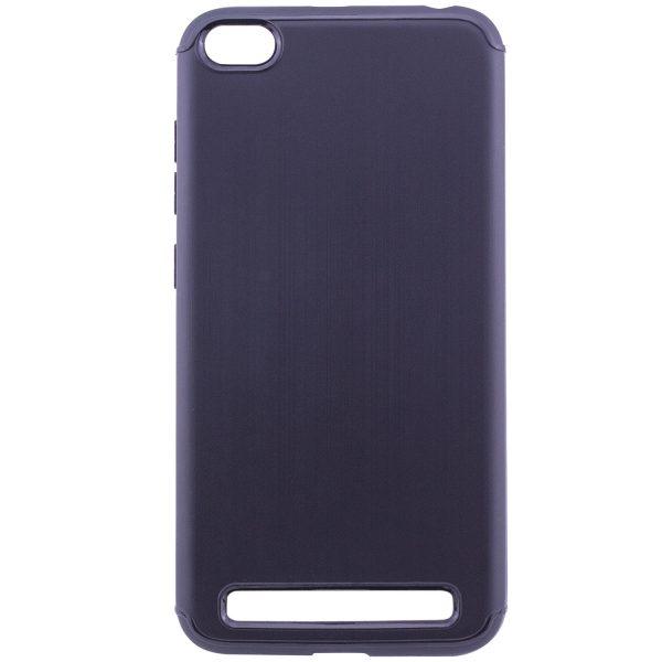 Черный силиконовый (TPU) чехол (накладка) Metal для Xiaomi Redmi 5A (Black)