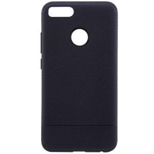 Черный силиконовый (TPU) чехол (накладка) Carbon для Xiaomi Mi 5x / Mi A1 (Black)