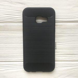 Cиликоновый TPU чехол Slim Series для Samsung А320 Galaxy А3 2017 (Black)