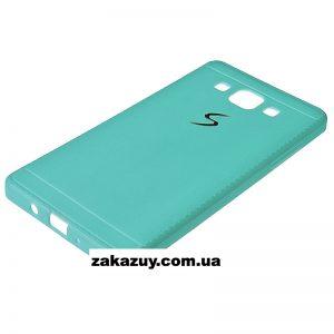 Мятный силиконовый (TPU) чехол (накладка) для Samsung A300 Galaxy A3 2015 (Mint)