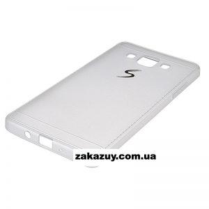 Белый силиконовый (TPU) чехол (накладка) для Samsung A500 Galaxy A5 2015 (White)