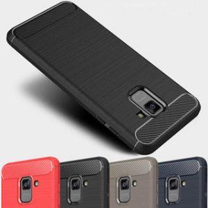 Черный cиликоновый чехол (накладка) Slim для Samsung A600 Galaxy A6 2018 (Black)