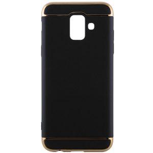 Матовый пластиковый чехол Joint Series  для Samsung A600 Galaxy A6 2018 (Black)