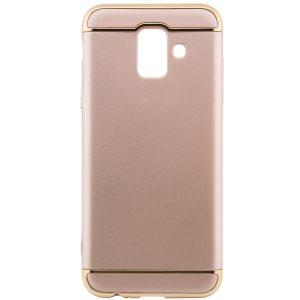 Золотой пластиковый чехол (накладка) Joint Series для Samsung J610 Galaxy J6 Plus (Gold)